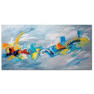Original Painting Modern Abstract Handmade Wall Oil Painting