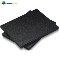 High quality grey plastic sheet ABS sheeting for waterproof