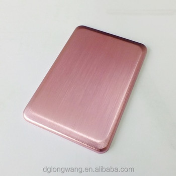 custom aluminum box with business card case