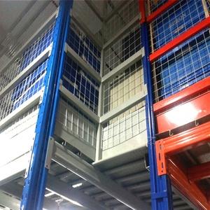 Factory Direct Steel Structure Mezzanine Floor Kits Cold Storage Mezzanine  Floor Racking