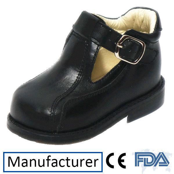 Kids Orthopedic Flat Feet Leather Shoes