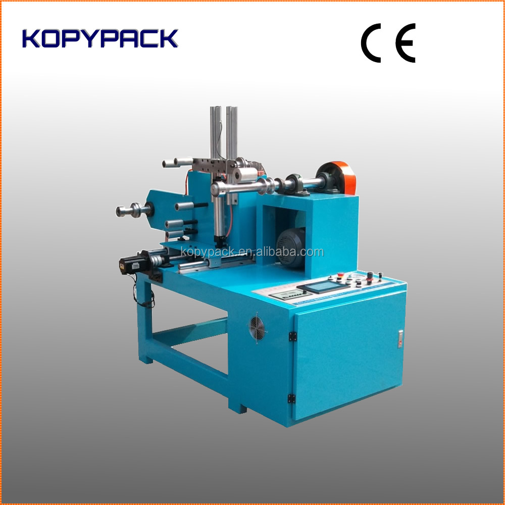 Wire Tape Roll Traverse Winding Spooling Machine With Single Spool ...