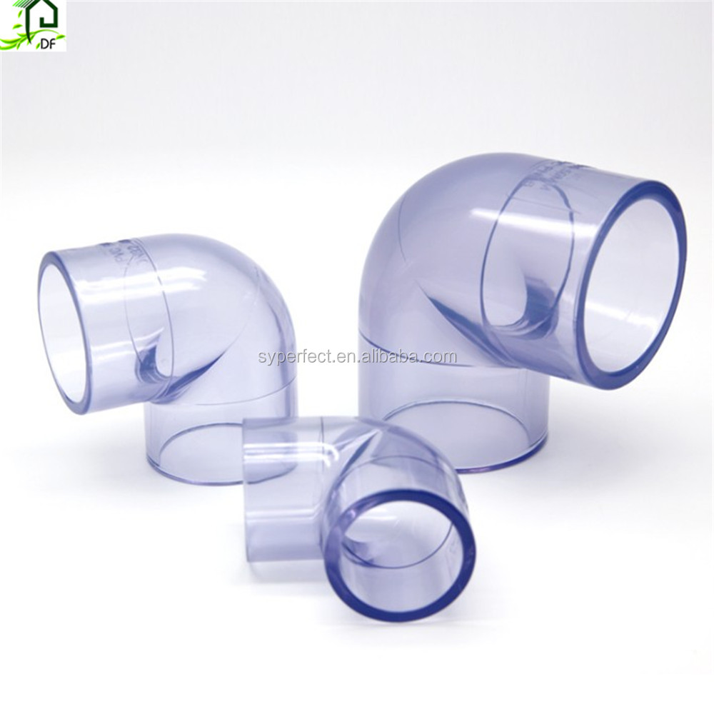 Clear 25mm PVC 90 Deg Elbow <strong>Fittings</strong>