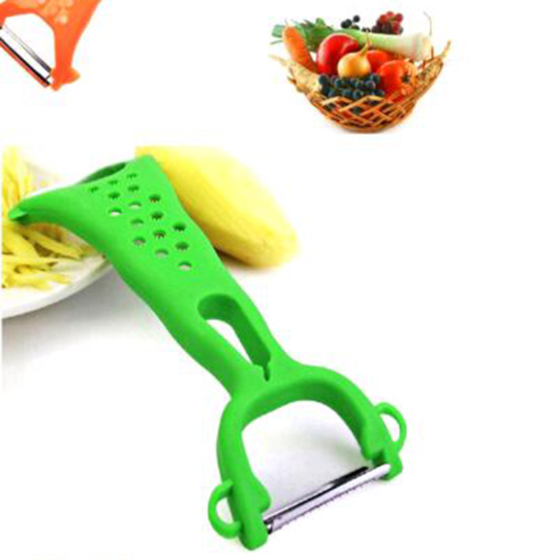 Stainless Steel Double Head Peelers Carrot Papyrus Melon Potato Apple Grater Cutter Vegetable Fruit Express Peeler