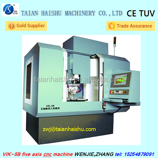 Hot Selling VIK-5B five axis five linkages CNC Tool Grinder Machine
