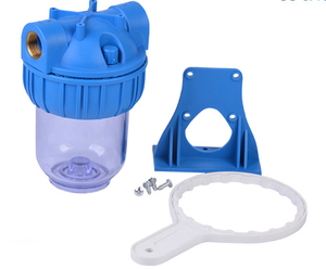 5'' high quality clear water filter housing