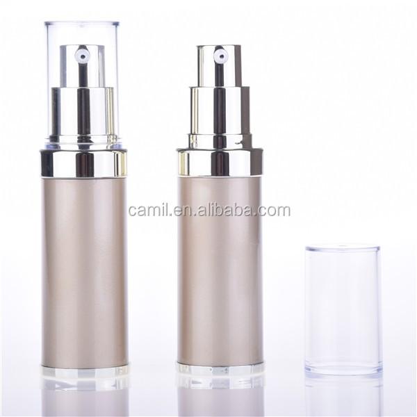 15ml 30ml 50ml Airless Pump Serum Packaging Gold Plastic Bottle For Sale Buy Plastic Bottle
