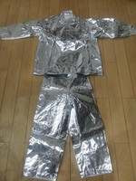 aluminum foil fire resistant cotton for fireman suit/glove