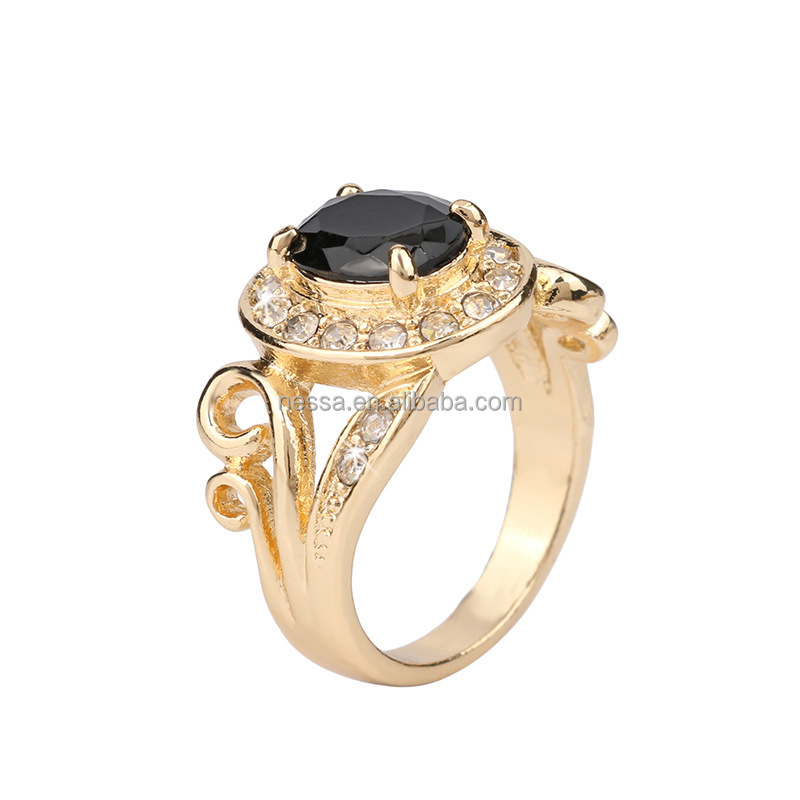 fashion gemstone ring design mens wholesale LYRI-0055
