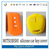 colorful silicone remote key cover for MITSUBISHI key cover