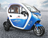 trade assurance factory customize 3 wheel cabin electric china car