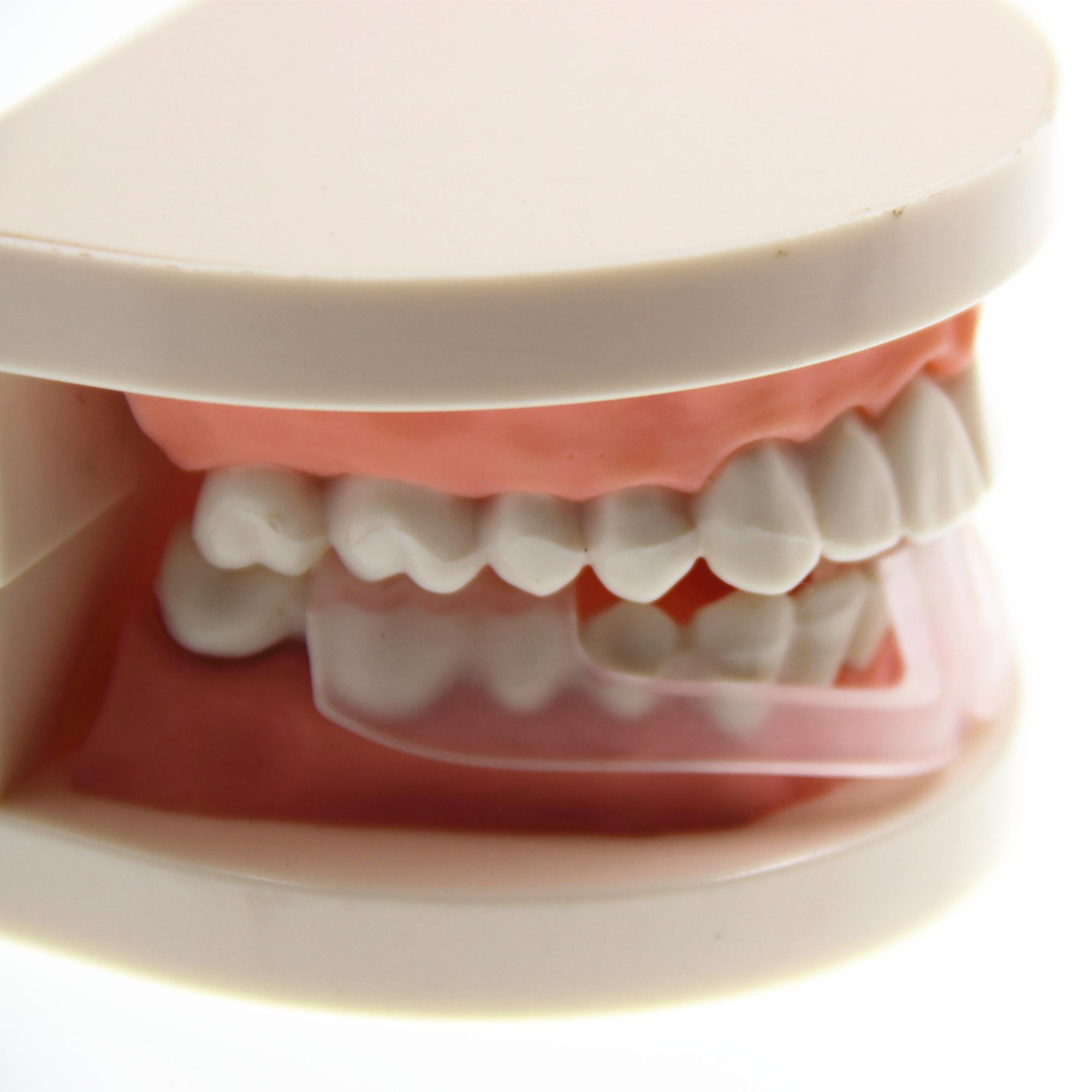 Pro Protetor de Boca Dental Stop Ranger Os Dentes Bruxismo Eliminar Apertamento Sono Ajuda