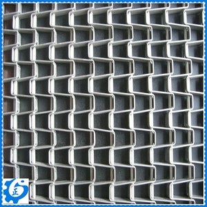 High Strong Stainless Steel Honeycomb Mesh Belt
