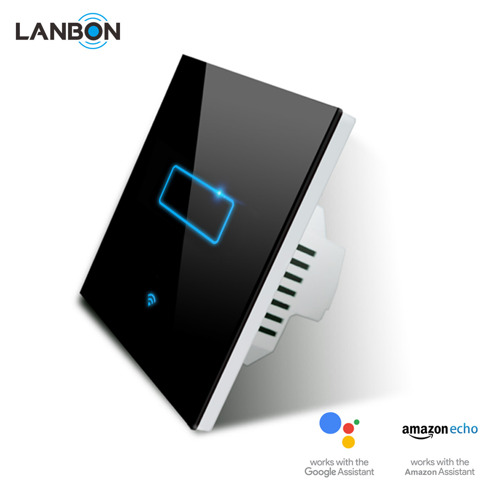 Lanbon Wifi Smart Touch Switch Beyond Zigbee And Z Wave No Hub Compatible With Google Home Alexa