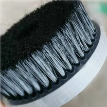 TDFbrush <span class=keywords><strong>PVC</strong></span> di base Dura <span class=keywords><strong>setole</strong></span> In Nylon <span class=keywords><strong>Spazzola</strong></span> ruota per la lucidatura