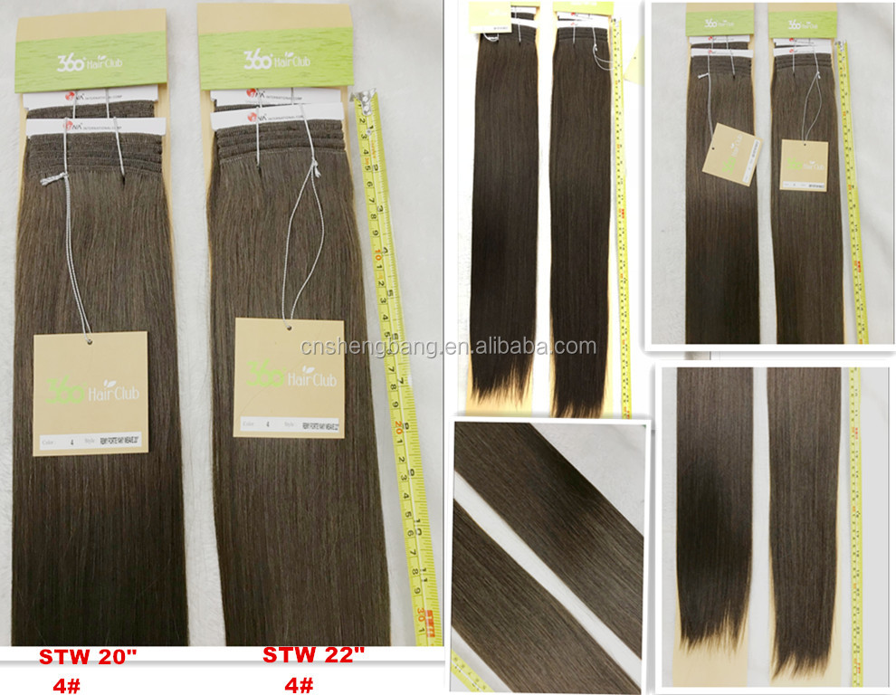 "In stock 100% Hair Weave Double Drawn Hair Club SINA 20"", 22"" light brown 30# 9A cheap human hair weaving"