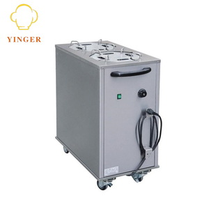Restaurant Commercial Electric Plate Warmer Cart Electric Plate Warmer Cart