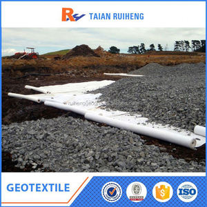 Needle Punched Non woven Polyester Geotextile