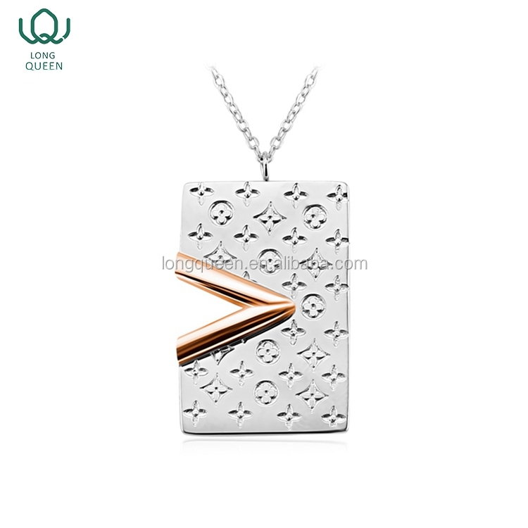 2017 Wholesale Simple Style Stainless Steel Muslim Necklace