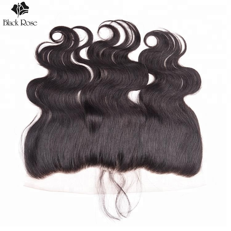 Ms Lula Hair 4 Bundles Body Wave Human Hair Wholesale Price Ear to Ear Lace Frontal Closure with Human Hair Bundles with Closure