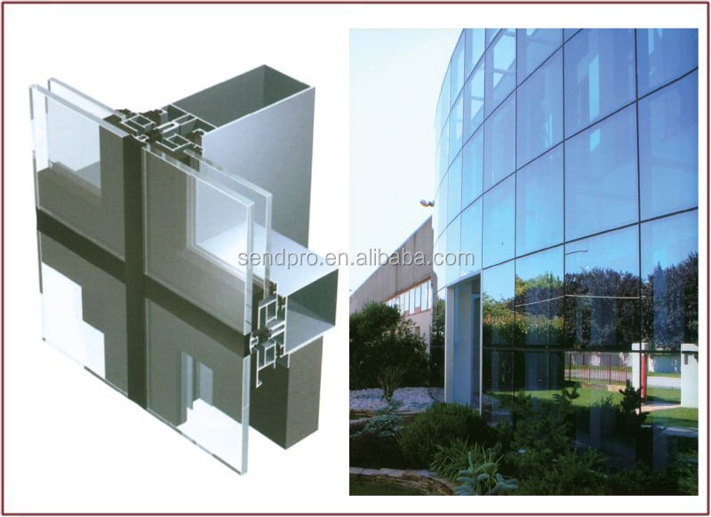 China Glass Clamp Curtain Wall, China Glass Clamp Curtain Wall ...