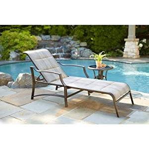 Superior Get Quotations · Statesville Padded Patio Chaise Lounge