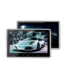 1080p headrest 10 inch monitor car Lcd touch screen