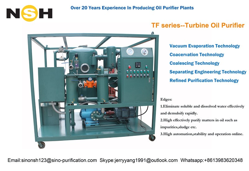 ISO certification Turbine Oil Cleaning Machine,Turbine Oil Purifier