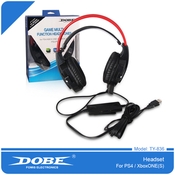 Dobe Stereo Headphone Gaming Drive-by-wire Earphone For Pc/ps3/ps4 ...