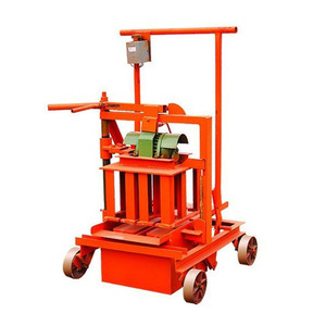 small scale industry QMY2-45 egg laying concrete block making machine