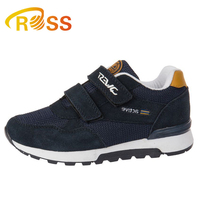 2019 Navy Children Kids Running Comfortable Sport Shoes Removable Buckle