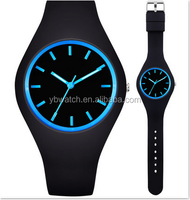 promotion gift silicon watch personal colorful waterproof watch
