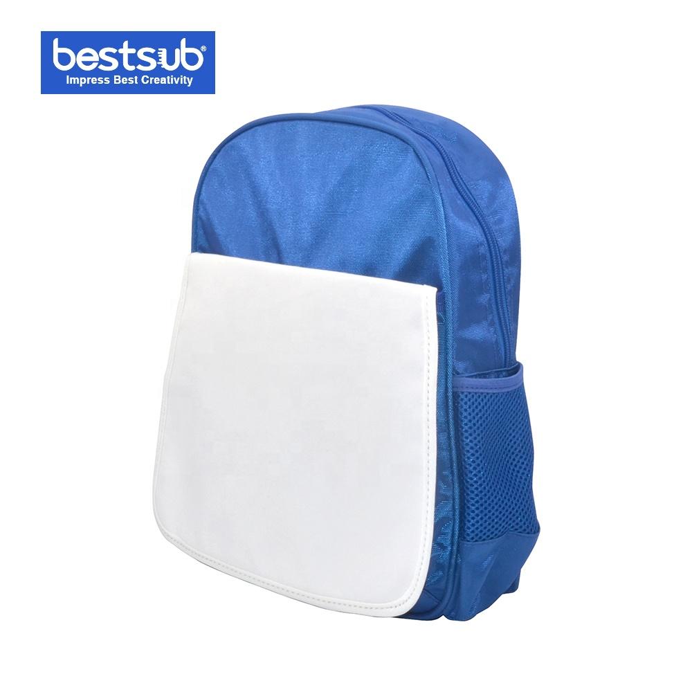 Sublimaci/ón medio ni/ños bolso de escuela azul