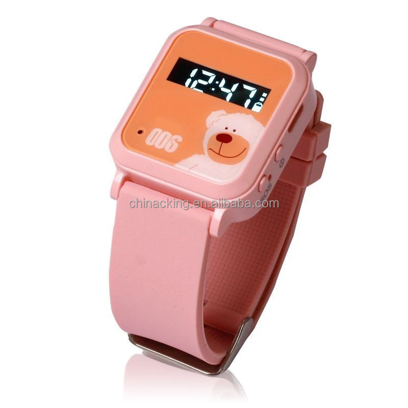 SOS Button gps cheapest wrist watch phone for Kids