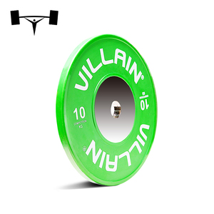 Best quality Competition Barbell Set Colored Solid Rubber Bumper Weight Lifting Plates