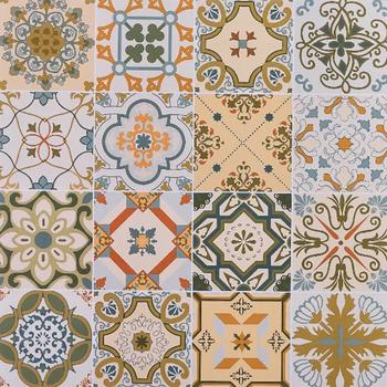 24x24 Moroccan Ceramic Tile Turkey Decor