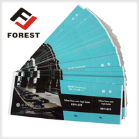 Facotry supplies printable movie tickets, concert ticket printing