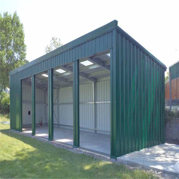 Prefab Steel Structure Design Building Mini Storage Warehouse