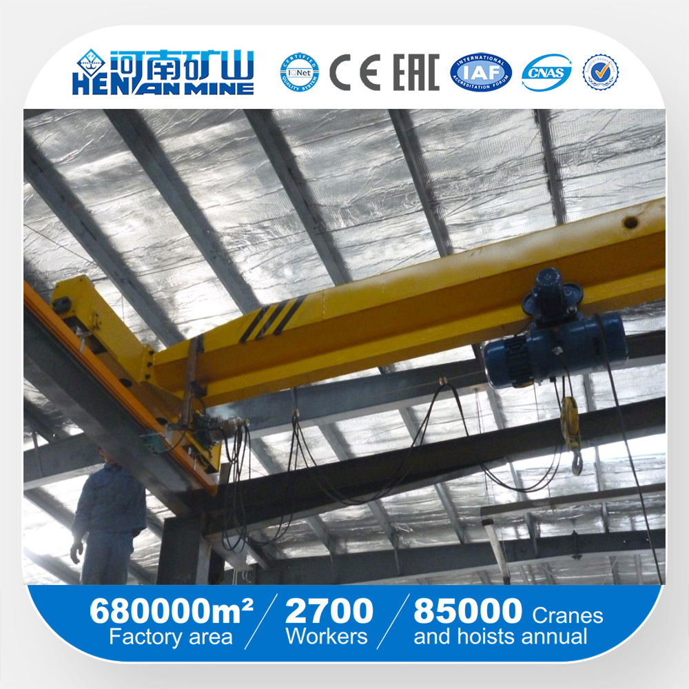 Grab bucket bridge overhead crane