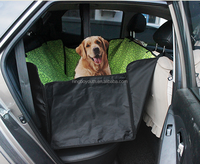 PC0107 Waterproof Hammock Dog Seat Covers - Large Back Seat Pet Seat Covers for Cars, Trucks and SUV - Machine Washable