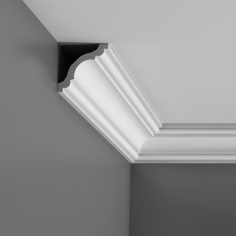 Different type PU foam decorative ceiling cornice mouldings for interior and outdoor