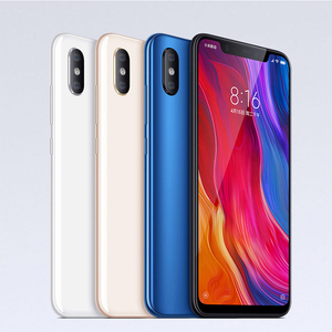 "Global Version EU Xiaomi Mi 8 Mi8 Mobile Phones 6GB 64GB Snapdragon 845 Octa Core 6.21"" 18.7:9 Full Screen 20MP Camera NFC"