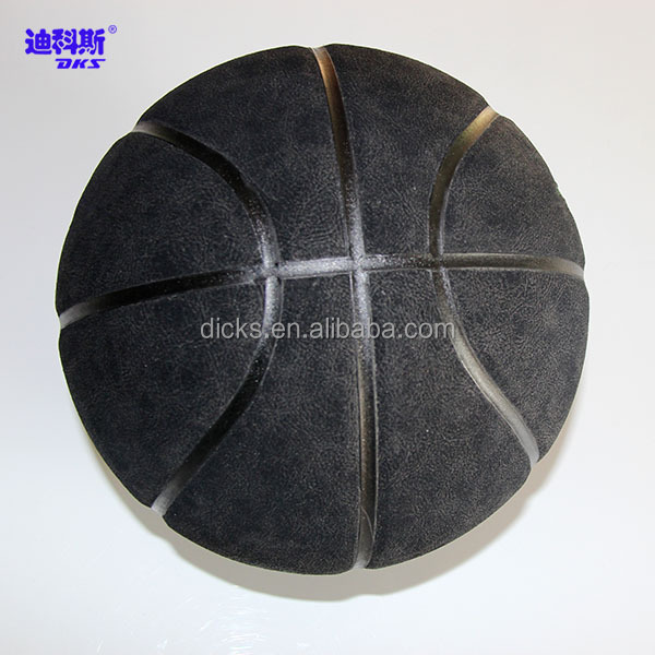 Black Colored Children Size 6 Micorfiber Basketball