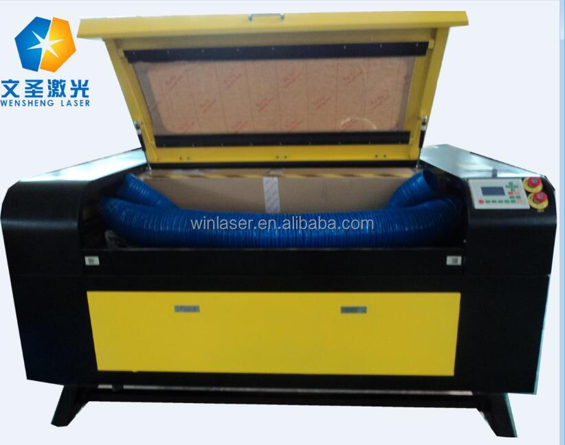 laser printing and cutting machine on acrylic