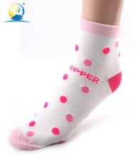 Good price high quality socks pink dot teen girl in socks dreamgirls