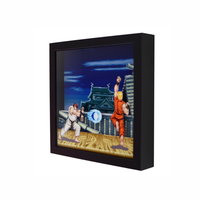 hot selling manufacture white wood 3d deep custom shadow box photo frame