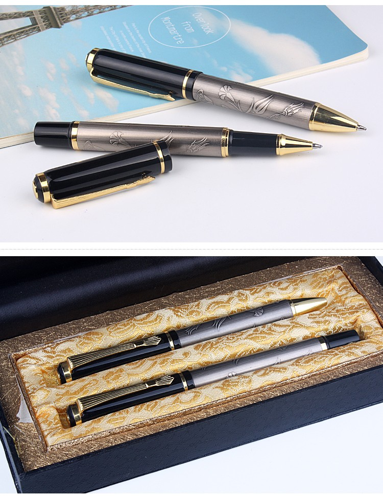Top quality luxury new design laser engraving pen with logo for promotion and advertising