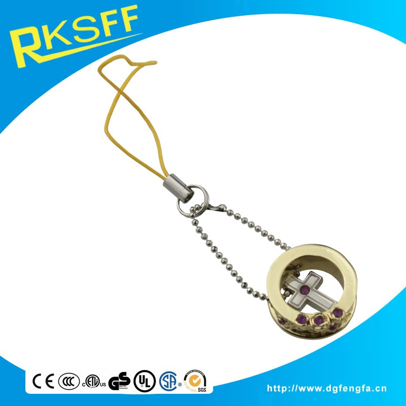 manufacturer new fashion mobile phone straps or charms