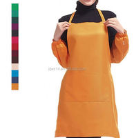 2018 cheap fashion promotion design cooking aprons