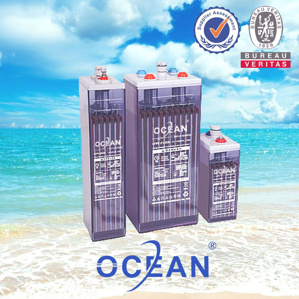 opzv solar 12v lead acid battery Ocean best tubular plate 2v 600AH battery opzv opzs battery for solar